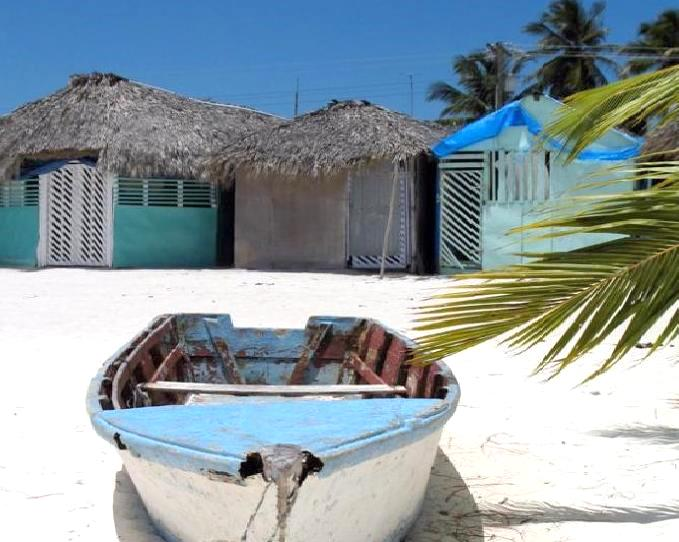 the fisherman's village Mano Juan, Saona Island