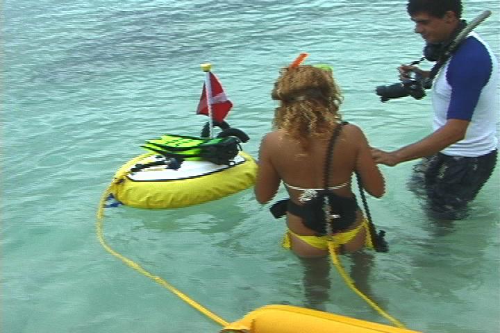 Hookah dive adventure bayahibe - Floating dive compressor ...